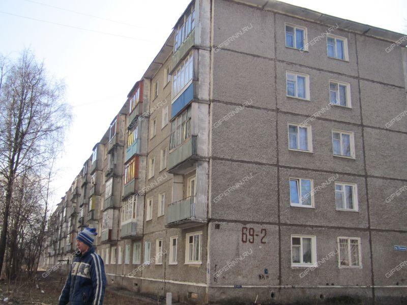 двухкомнатная квартира на проспекте Ленина дом 69 к2
