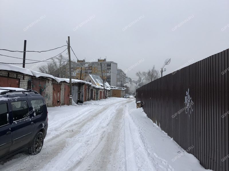 гараж на Гордеевской улице