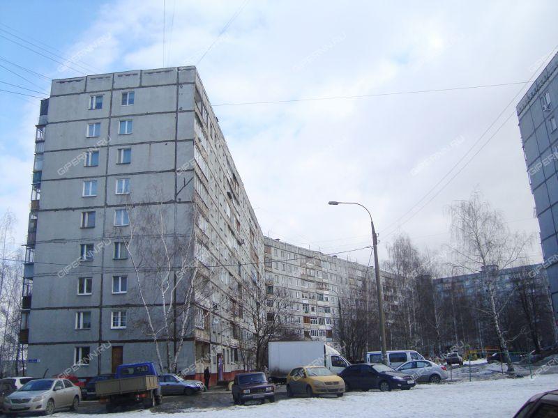 двухкомнатная квартира на улице Строкина дом 8