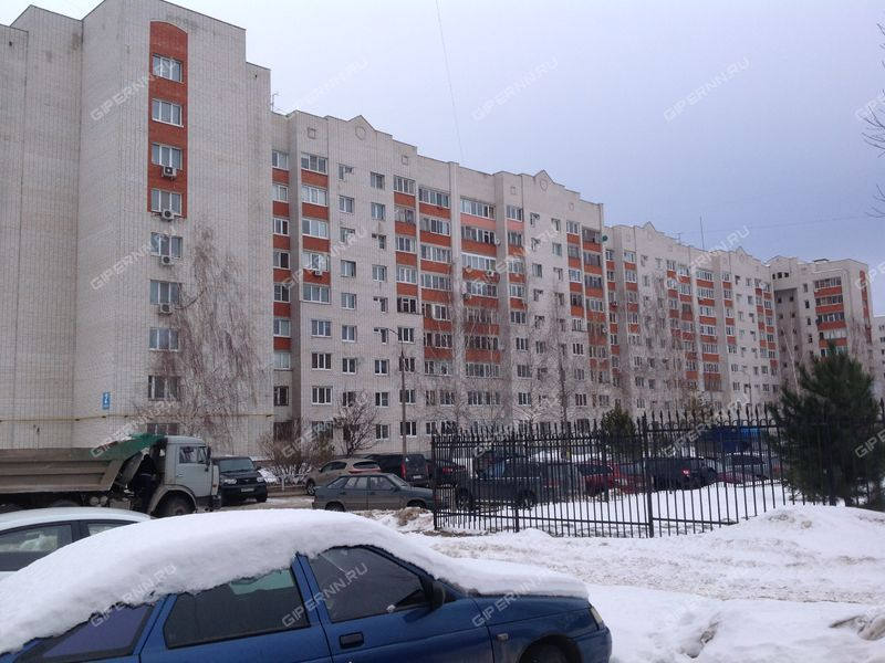трёхкомнатная квартира на Парковой улице дом 2 город Кстово