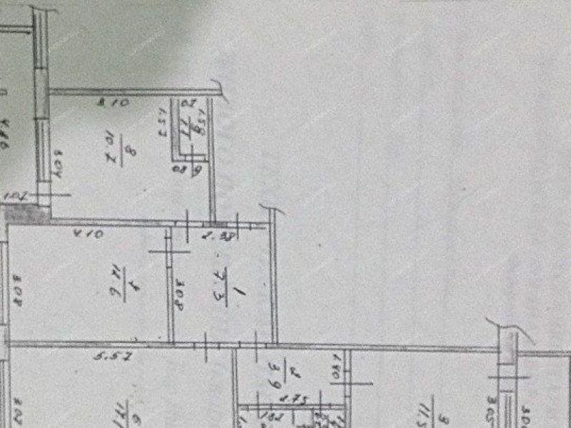 трёхкомнатная квартира на улице Красногорка дом 13 город Бор