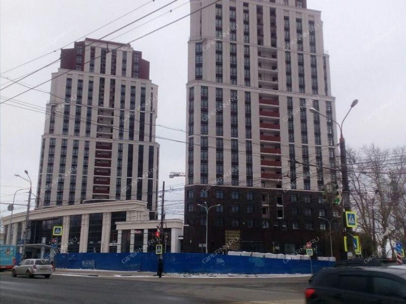 двухкомнатная квартира в новостройке на улице Родионова