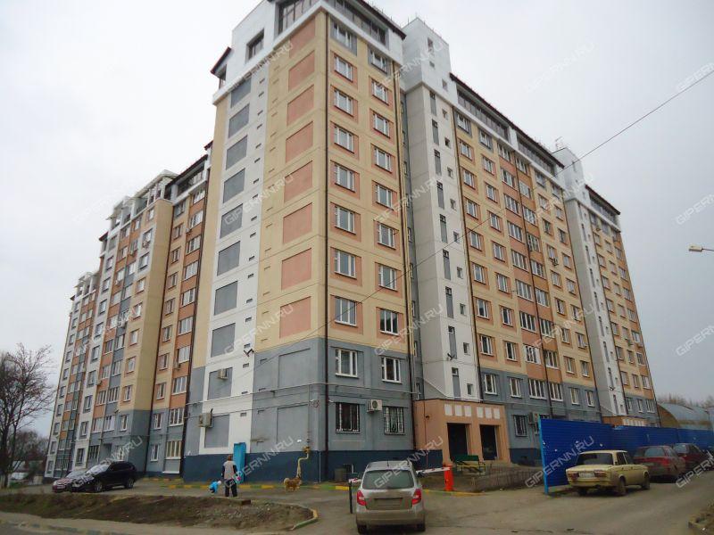двухкомнатная квартира на улице Братьев Игнатовых дом 1 к2